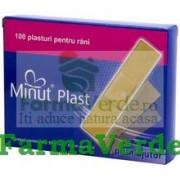 Plasturi Prim Ajutor 19x72 100 buc Minut Vision Trading