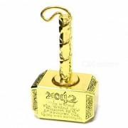 SPO martillo en forma de cobre puro estres de alivio dedo de juguete - de oro