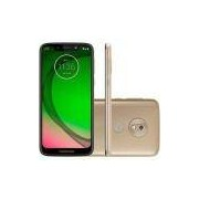 Smartphone Motorola Moto G7 Play 32GB Dual Chip Android Pie - 9.0 Tela 5.7 1.8 GHz Octa-Core 4G Câmera 13MP - Ouro