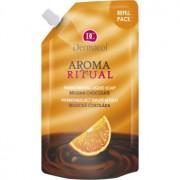 Dermacol Aroma Ritual sabonete líquido harmonizador chocolate belga 500 ml