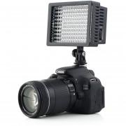 ER 160 LED La Luz Del Estudio De Vídeo Para Canon Nikon Cámara DV Videocámara Fotografía.