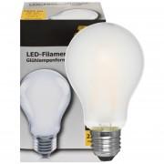 LED lamp 8W 1055 lumen 2700K E27 AGL mat 230V
