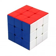 FC MXBB Magic Cube Speed Puzzle 3x3x3 Stickerless Colorful Twist Brain Teasers Educational Toy 56mm