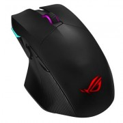 ASUS ROG Chakram Optical Gaming Mouse (USB/Wireless/Bluetooth/Black/16000dp