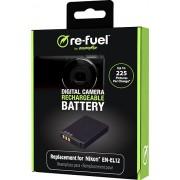 Digipower - Digital camera replacement battery for Nikon EN-EL12 battery pack