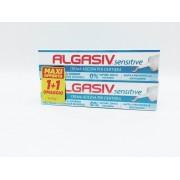 Combe Algasiv Sensitive Crema Adesiva Dentiera Pacco Doppio 40g+40g
