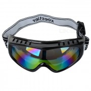 Elegante marco TR90 + PC Lens UV proteccion esqui gafas / gafas - Negro