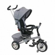 Tricicleta Baby Mix cu sezut reversibil Typhoon Grey