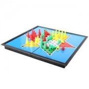 Alcoa Prime Classic Chinese Checkers Board Game Student Kid Home Travel Toy Set New
