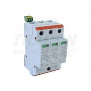 Descarcator de supratensiuni,AC,cl.2,elem.modular inlocuibil TTV2-20-3P 230/400 V, 50 Hz, 10/20 kA (8/20 us), 3P