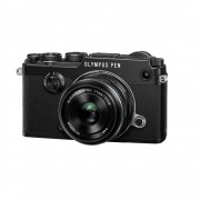 Olympus PEN-F Aparat Foto Mirrorless 20MP MFT Full HD Kit cu Obiectiv 17mm F1.8 Negru