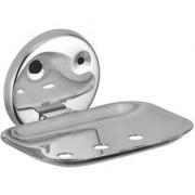 Kamal Lotus Stainless Steel Soap Dish Holder
