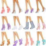 Lote 12 Pares Zapatos Barbie Mixto Sandalias Botas Zapatilla