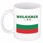 Bellatio Decorations Theemok vlag Bulgarije 300 ml