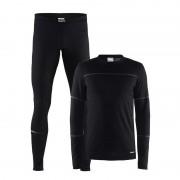 Merkloos Craft thermo schaats ondergoed set zwart voor heren