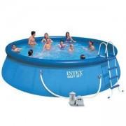 Надуваем басейн с филтърна помпа Easy Set, 549 х 122 см. INTEX, 7526176