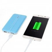LEYOU LE-350 10000mAh External Power Bank Charger for iPhone iPod Samsung HTC Pokemon Game - Blue