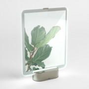 Рамка за снимки UMBRA GLO с LED светлина - 20 х 25 см - цвят сребрист