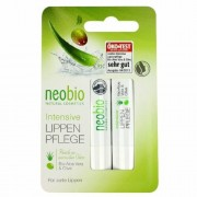 Neobio Ajakápoló bio Aloe verával és bio Olivával, 2x4,8 g