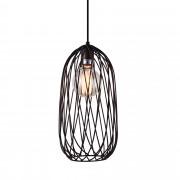 [lux.pro]® Dekoratívní designové závěsné svítidlo / stropní svítidlo - bronz (1 x E27) HT169909