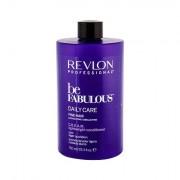 Revlon Professional Be Fabulous™ Daily Care Fine Hair balsamo per capelli per capelli colorati 750 ml donna