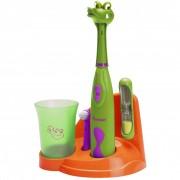 Bestron Set periuțe de dinți pentru copii, model crocodil, DSA3500A