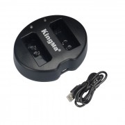 Incarcator KingMa USB dual LP-E10 pentru Canon