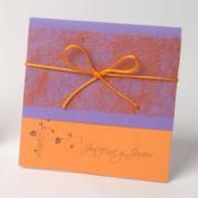 Invitación de Boda Orange