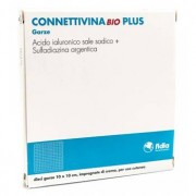 Fidia Farmaceutici Spa Connettivinabio Plus Garza 10 X 10 Cm 10 Pezzi