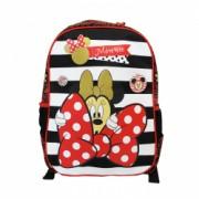 Ghiozdan clasa 0 Pigna Minnie Mouse rosu-negru MNRS1842-2