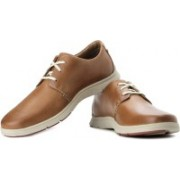 Clarks Milloy Vibe Corporate Casuals For Men(Tan)