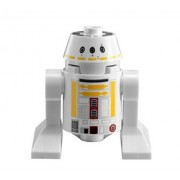 NEW LEGO STAR WARS R5-F7 MINIFIG y-wing figure 9495 yellow r2-d2 astromech droid