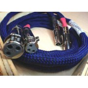 Cabluri audio - A Charlin - XLR Blue 2100 1m