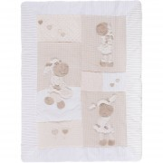 Baby DIB Cobertor 90X120 Oveja Crema