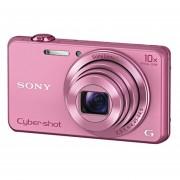 "Cámara Digital Sony DSCWX220 /B 18.2 MP Con Pantalla LCD De 2.7"" -Rosa"