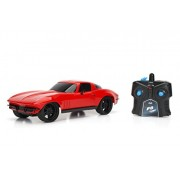 Jada Toys Chevy Corvette Radio Control Vehicle, Red