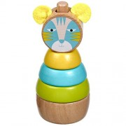 Baybee Premium Wooden Color- Stacking Toyset Wooden Toy / Educational Toy for Children (Stack Cat)