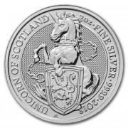 Stříbrná mince 5 Pounds The Queens Beasts The Unicorn 2 Oz 2018