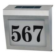 Brennenstuhl Numéro de la maison illuminé par énergie solaire SH 4000 IP44