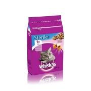 Whiskas Sterile 1+ Croccantini Ripieni Con Salmone 350gr