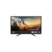TV LED 32 Philco PH32B51DSGW HD com Conversor Digital e Fun��o Smart 2 HDMI 1 USB