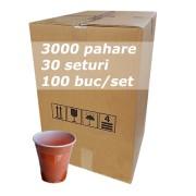Pahar plastic 6oz FLO bax 3000buc