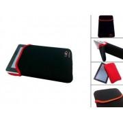 Neoprene Sleeve, Beschermhoes voor uw Qware Pro 2 7 Inch, Zwart, merk i12Cover