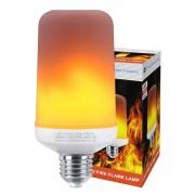E14 LED fényforrás, lánghatású 1300/1800K meleg fehér
