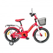 Bicicleta copii MyKids Toma Fire Station Red 18 inch