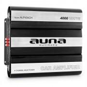 Amplificator de mașină AUNA MOSFET, 4 Canale,putere de 4000W (W2-AMP404CHb)