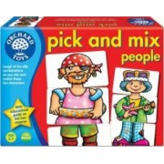 Jucarie educativa Orchard Toys Pick and Mix People