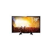 TV LED 32 HD AOC LE32H1461 com Conversor Digital Integrado, Entradas HDMI e Entrada USB