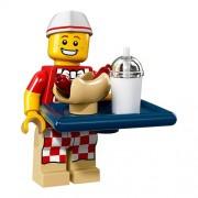 Lego Série 17 Mini-Figurine - Vendeur De Hot-Dog