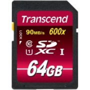 Transcend Ultimate 64 GB SDXC UHS Class 1 90 MB/s Memory Card